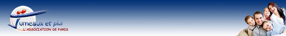 Adhésion 2019 à l'association Jumeaux et Plus Paris - Jumeaux et Plus Paris
