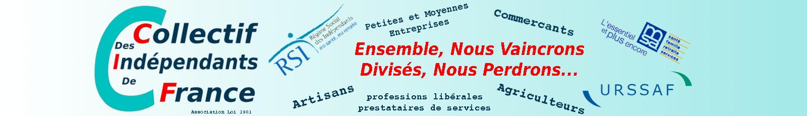 adhésion ou cotisation de soutien (don) 2016 - Collectif des Indépendants de France