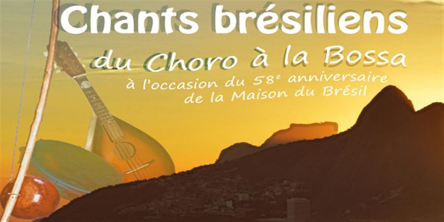 Concerts de Musique Brésilienne : du Choro à la Bossa - Chœur Interuniversitaire de Paris