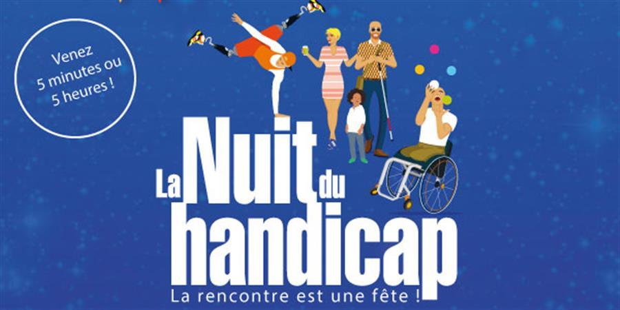 La Nuit du handicap 2021 - Saubion - LA NUIT DU HANDICAP