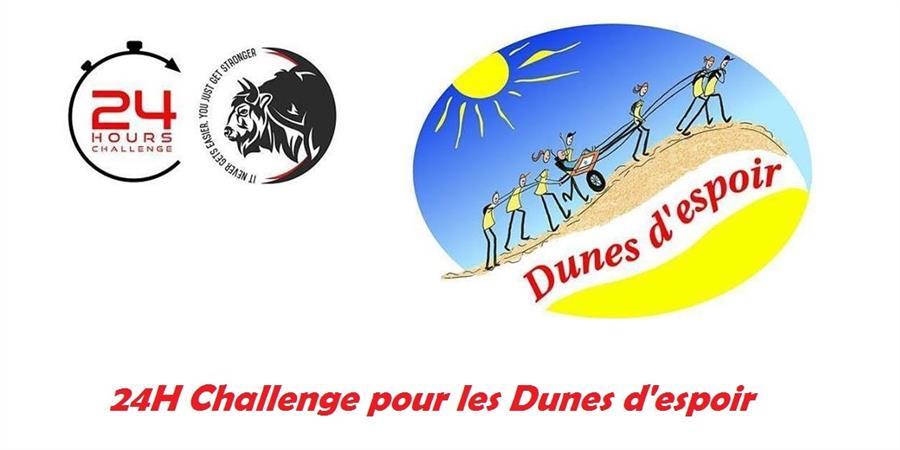 24 heures challenge pour les Dunes d'espoir ! - Dunes d'espoir