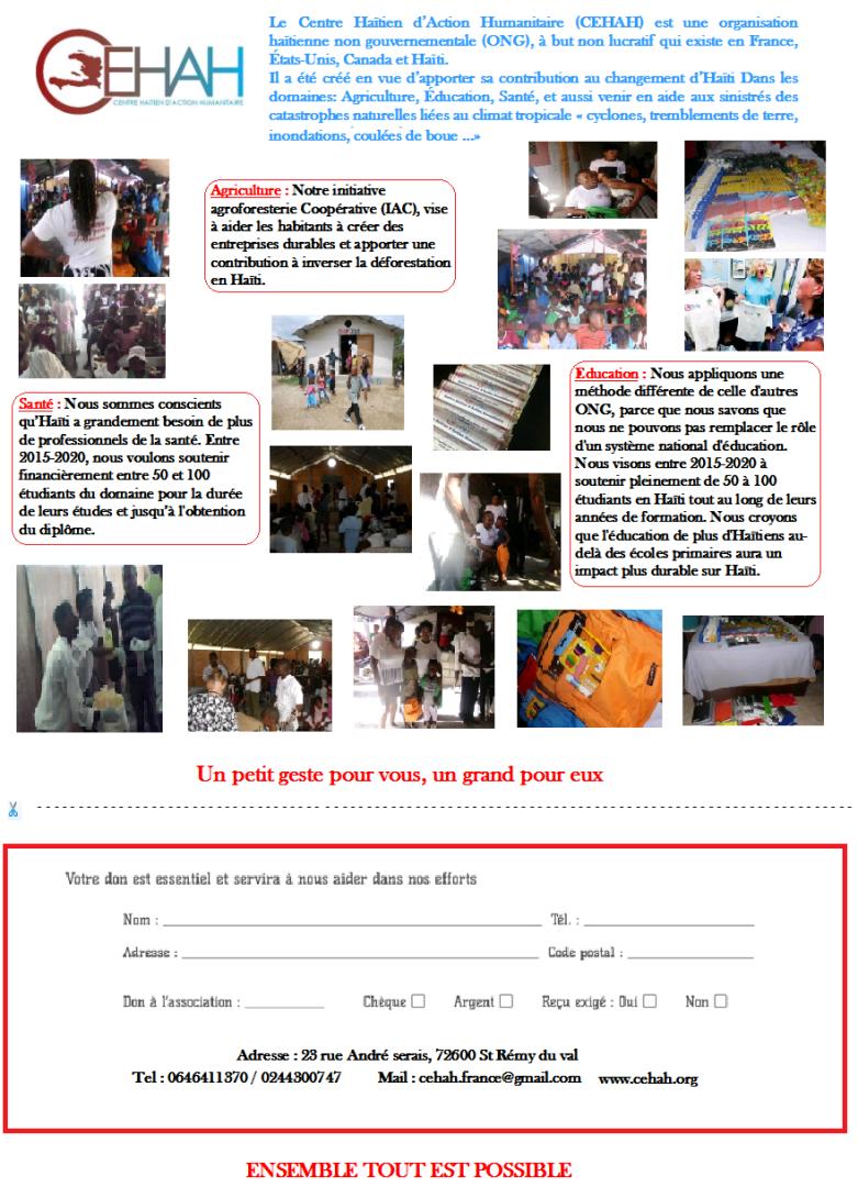 Aides Aux Petits  Haitiens Restés Orphelins Suite Au Séisme De Jan 2010 , Leurs Situations N'a Fait Que S'agraver Parce que Vivre Sans Parents N'est Pas Une Chose Facile. soyez genereux ( dons  a partir de 2 euros ) .dozer mkc - centre d'aide humanitaire haitien CEHAH