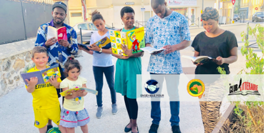 Projet éducatif «Une Ecole, Une Bibliothèque» - Association des Jeunes Guinéens de France AJGF