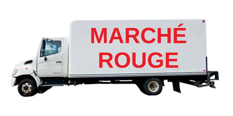 Marché Rouge. Un camion pour les approvisionner tous.tes ! - chat chuffit