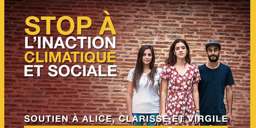 SOUTIEN AUX MILITANT·E·S CLIMAT DE TOULOUSE EN PROCÈS ! - Association de Gestion d'Alternatiba Toulouse
