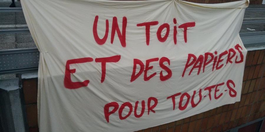 Collecte de fonds en soutient aux exilés de P8 - Paris 8 insoumise