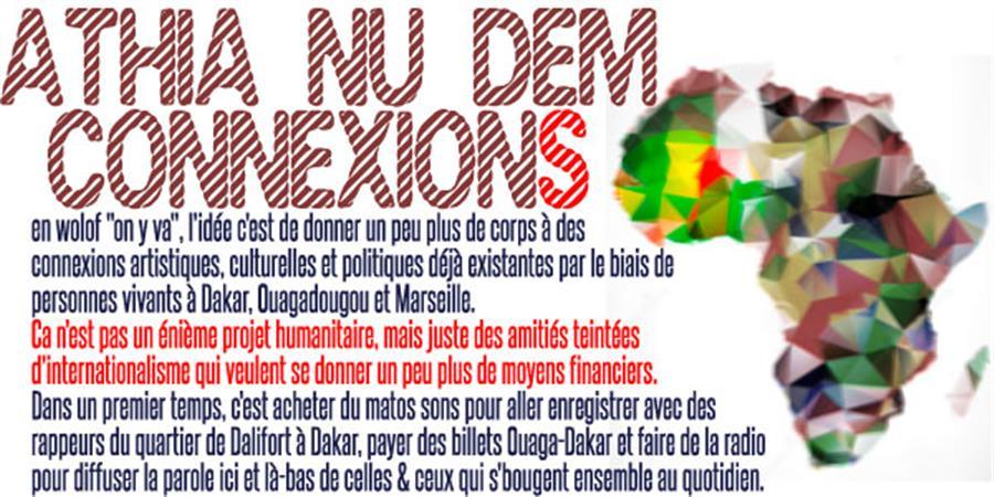 """Athia Nu Dem Connexions (""""allez, c'est parti, on y va!"""" en wolof) ! - A l'unisson"""