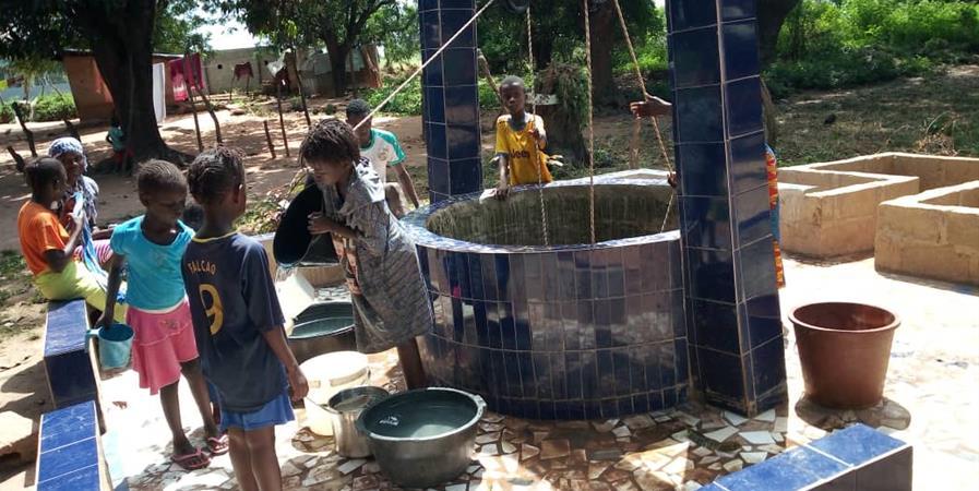 L'eau, symbole de vie - kheir fi Dounia
