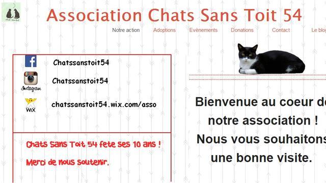 Nous avons besoin de vous !  - chatssanstoit54