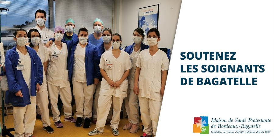 Soutenez les soignants de Bagatelle  - FONDATION MSPB BAGATELLE