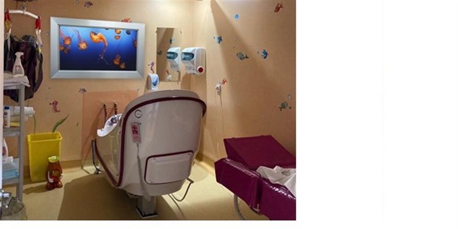 Financement d'une balnéothérapie à l'IHOPe - APPEL - Une main tendue vers la vie