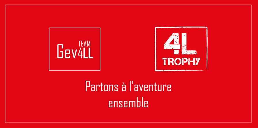 4L TROPHY - TEAM GEVELL - TEAM GEVELL