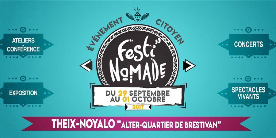 FESTI'NOMADE, Alter Quartier de Brestivan THEIX. Par ANTILABE et HALEM - HALEM Nord Ouest