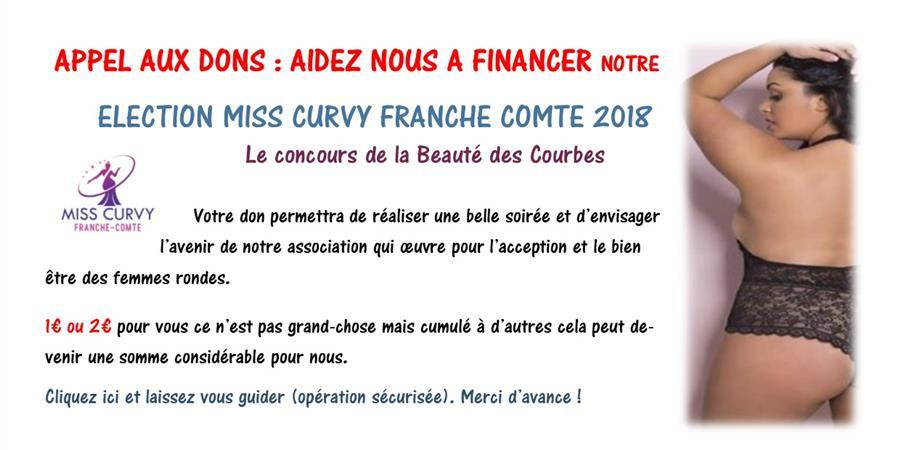 Election Miss Curvy Franche Comté 2018 : Le concours de la Beauté de Courbes - Assume Tes Formes !