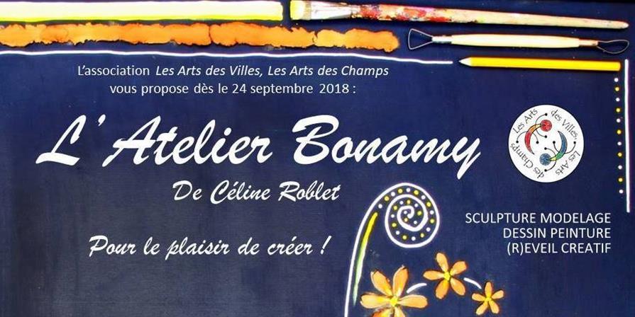 Lancement de l'Atelier Bonamy ! - Les arts des villes les arts des champs