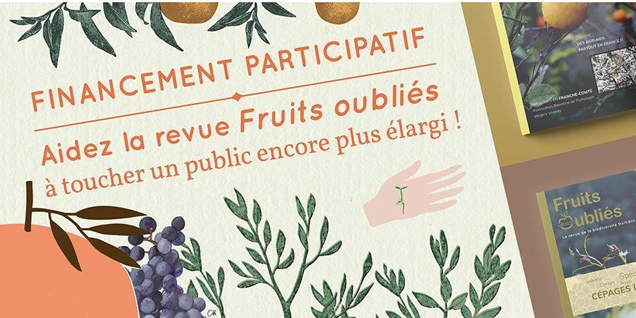 """Soutenez """"Fruits Oubliés"""" la revue de la biodiversité fruitière et alimentaire ! - Fruits Oubliés Réseau"""