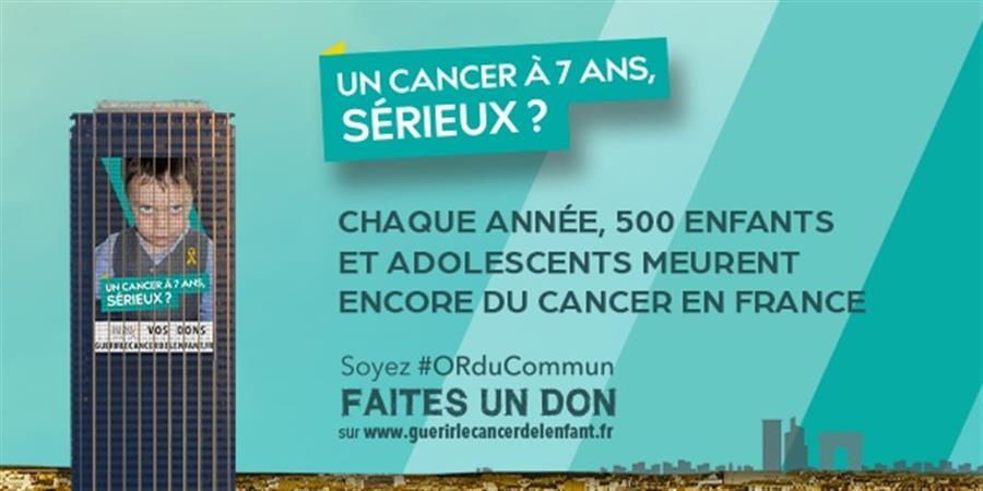 Un cancer à 7 ans, sérieux ? Aidez nous à avancer sur les cancers pédiatriques  - La Fondation Gustave Roussy