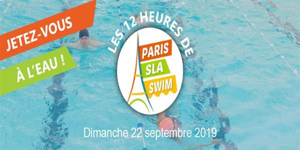 Capucine participe à Paris SLA Swim  - ARSLA