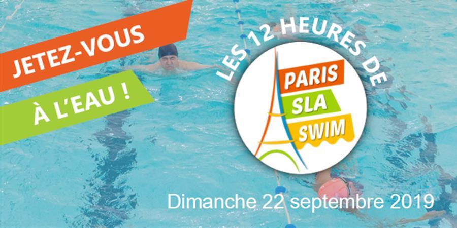 Pierre-André participe à Paris SLA Swim  - ARSLA