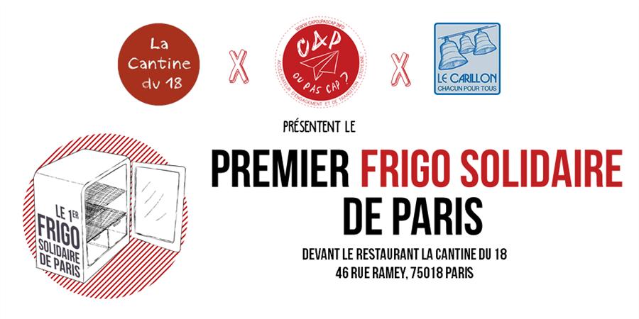 Premier Frigo Solidaire de Paris - Cap ou pas cap