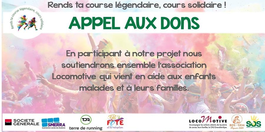 Color run - Coursesolidaire_SOS_Lomotive_SavoirOsélasolidarité