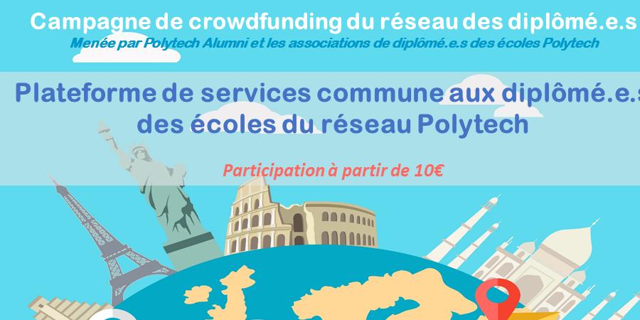 Plateforme de services pour les diplômé.e.s des écoles du réseau Polytech - Polytech Alumni