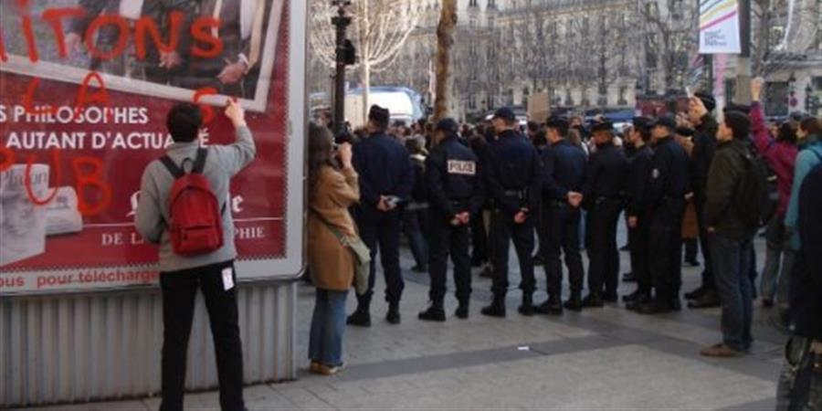 Soutien au déboulonneur parisien en procès le 6 octobre 2017 - RAP