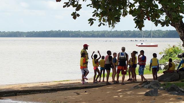 Aidez au developpement de la voile en Guyane - Vent d'Ouest