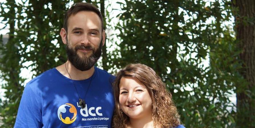 Hélène et Nicolas au Honduras - Délégation Catholique pour la Coopération