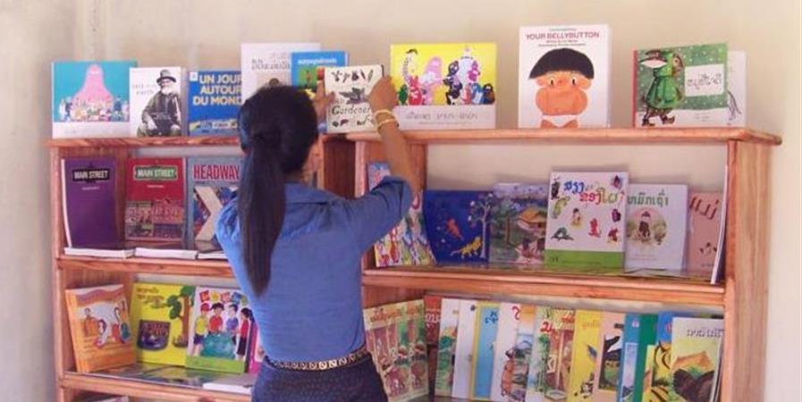Une bibliothèque pour Ban Vangkhene (Laos) - COBIAC