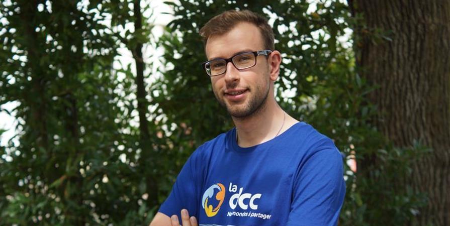 Matthias, animateur éducateur en Tunisie - Délégation Catholique pour la Coopération
