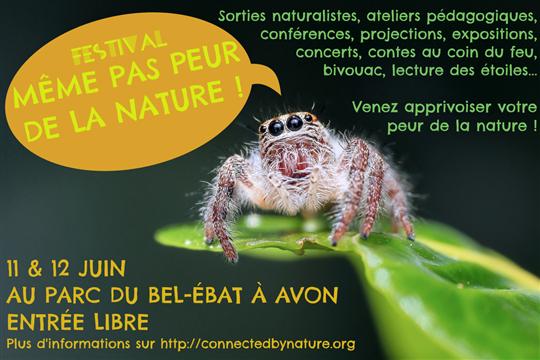 """Festival """"Même pas peur de la nature !"""" - Connected By Nature"""