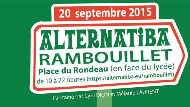 Alternatiba Rambouillet, fête des initiatives locales pour le climat ! - Rambouillet en transition