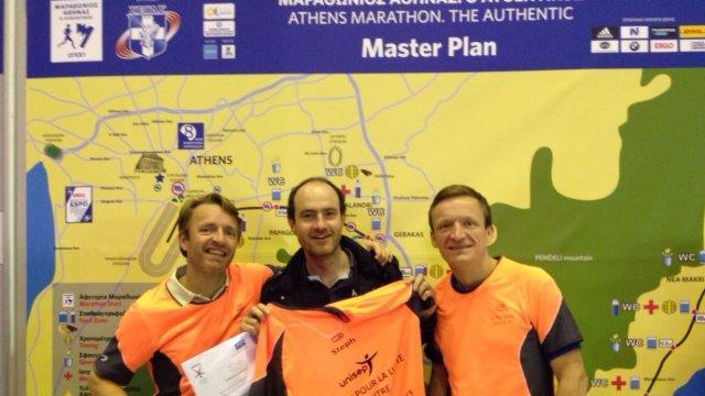 Un Marathon pour soutenir l'UNISEP - Stephane Pinard