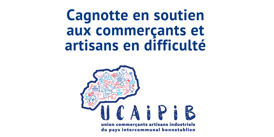 Cagnotte / Tombola de l'Union des Commerçants Artisans de Bonnétable - UCAIPIB UNION DES COMMERCANTSARTISANS INDUSTRIELS DU PAYS INT