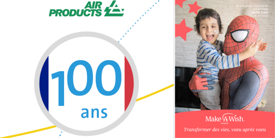 Challenge solidaire Air Products - Make-A-Wish France