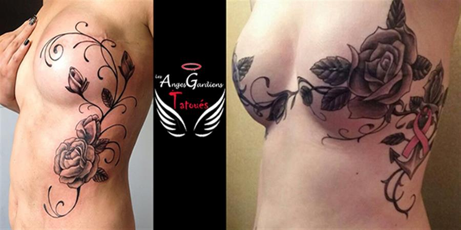 Offrir aux femmes qui le désirent la prise en charge des tatouages de  recouvrement des cicatrices suite à une mastectomie. ad16409190a