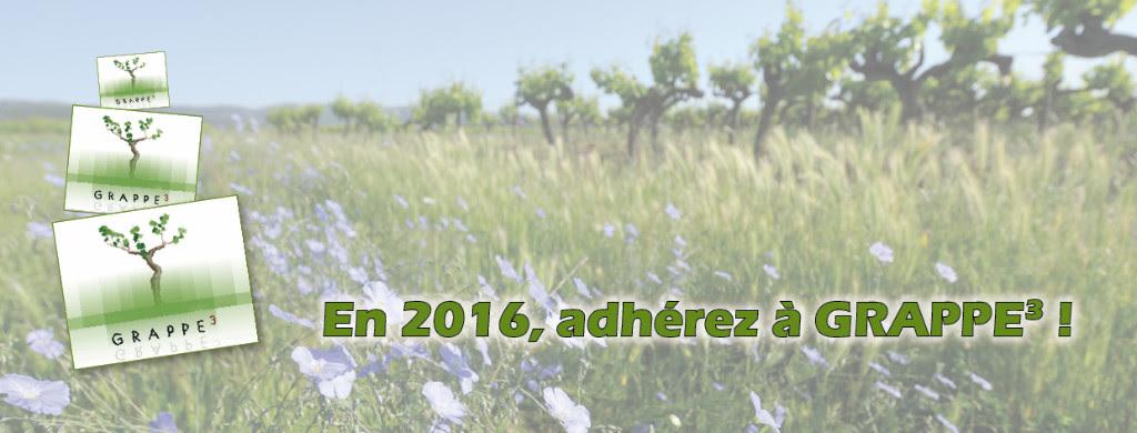 Campagne d'adhésion 2016 - Grappe3