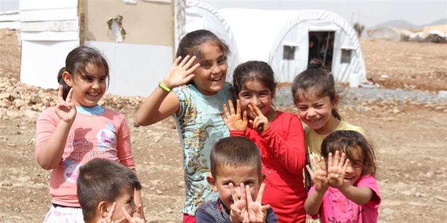 Campagne de parrainage de familles kurdes - Soleil Rouge France - Roja Sor F