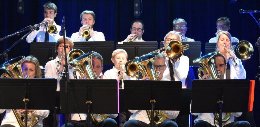 Le Brass Band A3BB à JERSEY - CITIES AVRANCHES PARTENAIRES