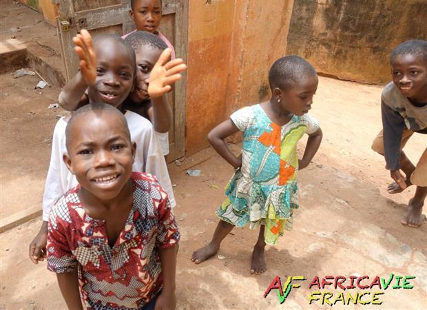 Réhabilitation d'un bâtiment scolaire à Badja au Togo - AfricaVie France