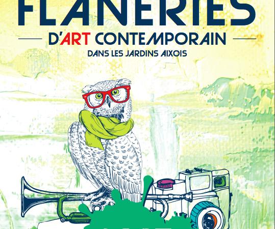 Flâneries d'art contemporain dans les jardins aixois. - aix-en-oeuvres