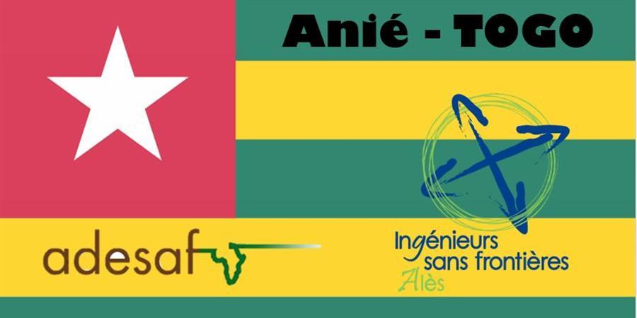PROJET EXTENSION DU RESEAU D'EAU à Anié (Togo) - ISF Alès