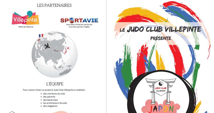 Projet Japon 2020 Judo Club Villepinte - Association sportive Judo Club Villepinte
