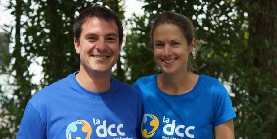 Nathalie et Damien au Vietnam - Délégation Catholique pour la Coopération