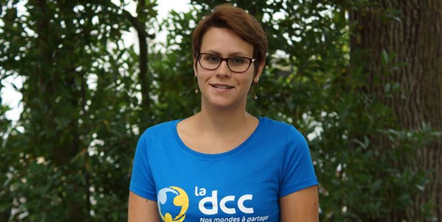 Christelle, infirmière en Côte-d'Ivoire - Délégation Catholique pour la Coopération