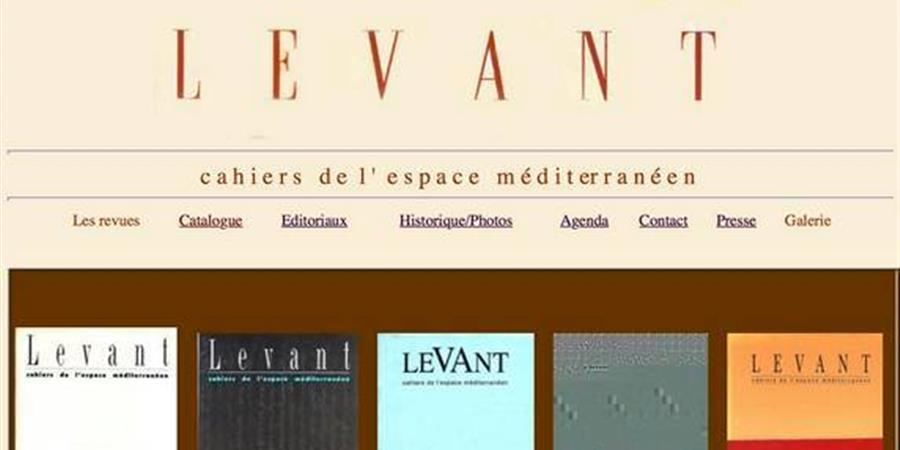 Revue Levant n°12 - LES AMIS DE LEVANT