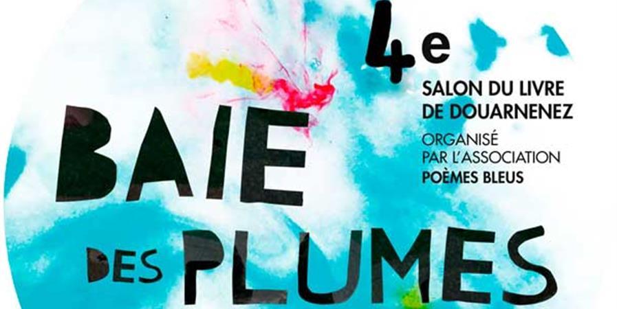 """Soutenez le salon du livre et de la poésie """"Baie des Plumes""""  de Douarnenez - Poèmes Bleus"""