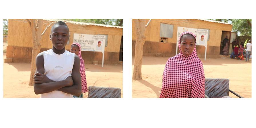 La classe Espoir Mahamadou Saïdou - Tarbiyya Tatali Association d'Echanges Culturels Ille et Vilaine Niger (AECIN)