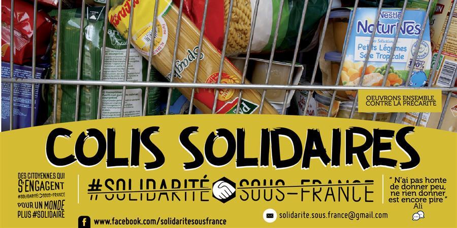 Colis Alimentaire Solidaire  - Solidarité Sous-France
